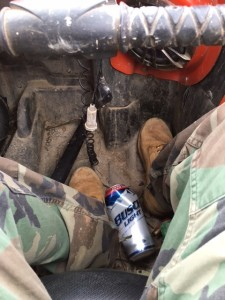 The true meaning of hunting - getting drunk and carrying a weapon